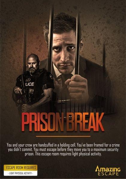 Prison break escape game photo