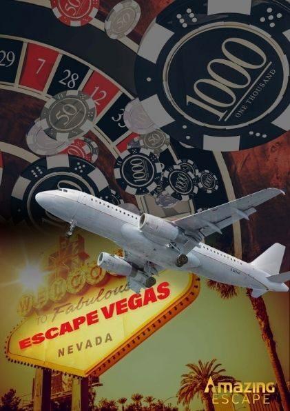 Vegas themed escape game photo